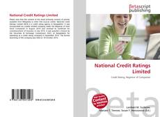 Borítókép a  National Credit Ratings Limited - hoz