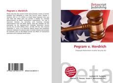 Bookcover of Pegram v. Herdrich