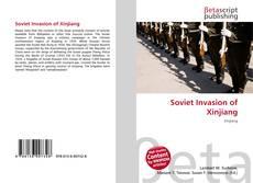 Buchcover von Soviet Invasion of Xinjiang