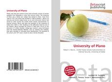 Portada del libro de University of Plano