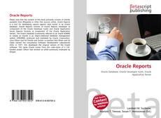 Buchcover von Oracle Reports
