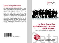 Bookcover of National Council on Radiation Protection and Measurements