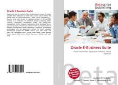 Couverture de Oracle E-Business Suite