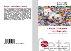 Banque Cantonale Neuchâteloise kitap kapağı