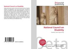 Buchcover von National Council on Disability