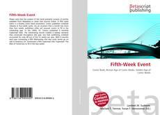 Couverture de Fifth-Week Event