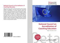 Couverture de National Council on Accreditation of Coaching Education