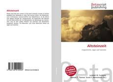Altsteinzeit的封面