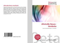 Обложка Altstraße Neuss–Herdecke