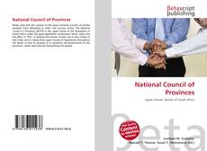 Bookcover of National Council of Provinces