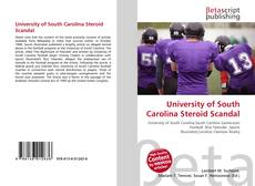 Portada del libro de University of South Carolina Steroid Scandal