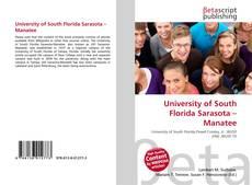 Copertina di University of South Florida Sarasota – Manatee