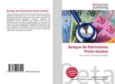 Banque de Patrimoines Privés Genève kitap kapağı