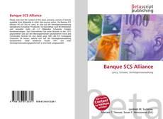 Banque SCS Alliance kitap kapağı