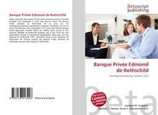Banque Privée Edmond de Rothschild kitap kapağı