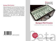 Banque PSA Finance kitap kapağı
