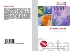 Bookcover of Banque Morval