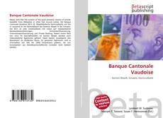 Buchcover von Banque Cantonale Vaudoise