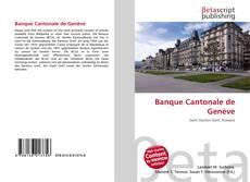Banque Cantonale de Genève kitap kapağı