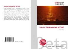 Soviet Submarine M-200的封面