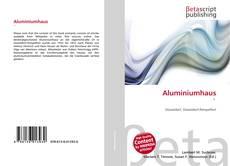 Copertina di Aluminiumhaus '