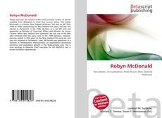 Couverture de Robyn McDonald