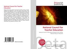 Couverture de National Council for Teacher Education