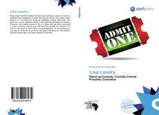 Buchcover von Lisa Landry
