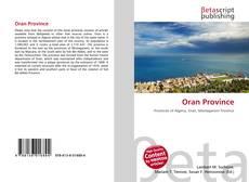 Couverture de Oran Province