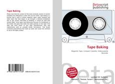 Bookcover of Tape Baking