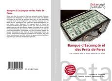 Banque d'Escompte et des Prets de Perse kitap kapağı