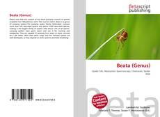 Capa do livro de Beata (Genus)