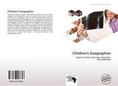Bookcover of Children's Geographies
