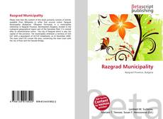 Portada del libro de Razgrad Municipality