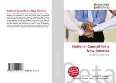 Bookcover of National Council for a New America