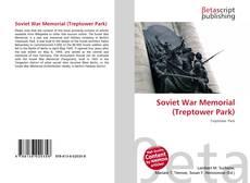 Bookcover of Soviet War Memorial (Treptower Park)