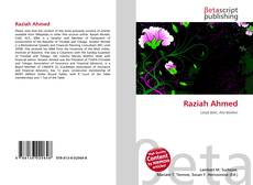 Bookcover of Raziah Ahmed