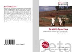 Buchcover von Bantoid-Sprachen