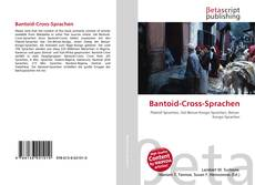 Buchcover von Bantoid-Cross-Sprachen