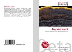Bookcover of Taphrina pruni