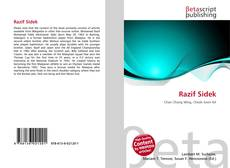 Bookcover of Razif Sidek