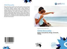 Capa do livro de Child Sexuality