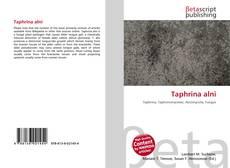 Bookcover of Taphrina alni