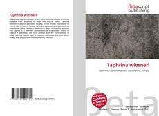 Buchcover von Taphrina wiesneri