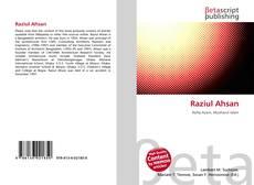 Portada del libro de Raziul Ahsan