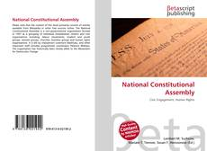 Couverture de National Constitutional Assembly
