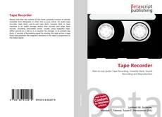 Обложка Tape Recorder