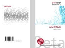 Alwin Bauer kitap kapağı