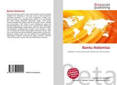 Buchcover von Bantu Holomisa
