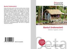 Bookcover of Bantul (Indonesien)
